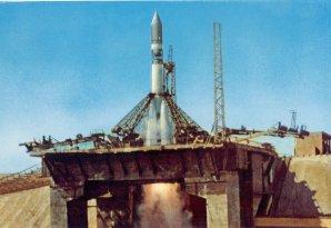Historický okamžik startu Gagarina Autor: Roskosmos