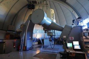 Dalekohled ZEISS 1-m RCC v kopuli OGS, Observatoř Teide, Tenerife Autor: Zdeněk Bardon