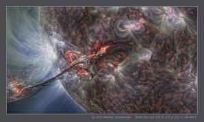 Filament eruption, August 31, 2012 Autor: Miloslav Druckmüller, NASA