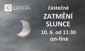 Částečné zatmění Slunce 10. 6. 2021, přímý přenos Autor: iQLANDIA/Martin Gembec