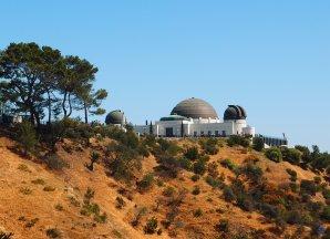 Pohled na Griffith Observatory. Los Angeles, Kalifornie, USA Autor: Zdeněk Bardon