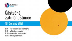 Zatmění 2021, Planetárium Ostrava