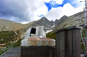 Na střeše observatoře Skalnaté Pleso Autor: Zdeněk Bardon
