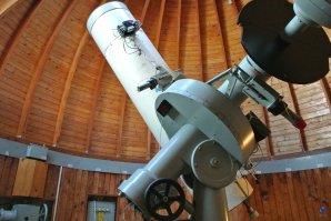 Dalekohled 0,6 m v kopuli observatoře Skalnaté Pleso Autor: Zdeněk Bardon