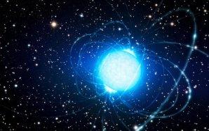 Umělecké vyobrazení neutronové hvězdy Autor: ESO / L. Calçada