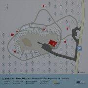 Plánek areálu astronomického parku Autor: Jaromír Ciesla