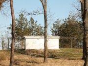 Bílý pavilón - pozorovací domeček s odsuvnou střechou Autor: Jaromír Ciesla