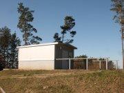 Pozorovací domeček s odsuvnou střechou pro kameru na fotografování družic Autor: Jaromír Ciesla