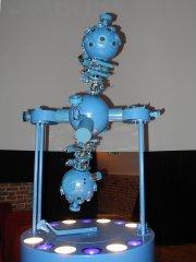 Projekční planetárium ZKP 2 od firmy Carl Zeiss Jena Autor: Jaromír Ciesla