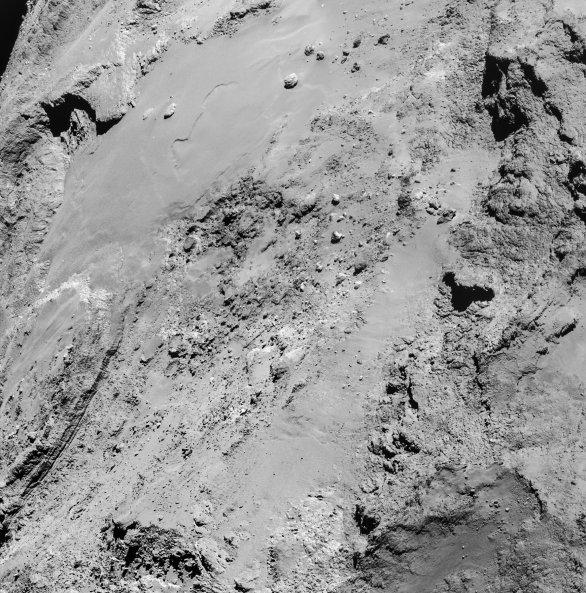 Letokruhy komety 67P Churyumov-Gerasimenko Autor: ESA