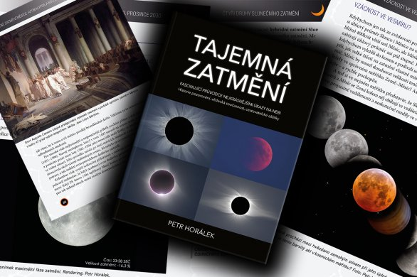 Vyšla kniha Tajemná zatmění. Autor: Nakladatelství Albatros.