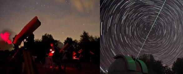 Pozoruhodné zážitky pod nočním nebem na Expedici v Úpici. Autor: Astronomická expedice.