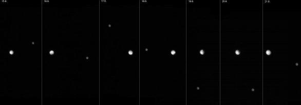 Pluto s Charonem rostou před očima Autor: Petr Scheirich