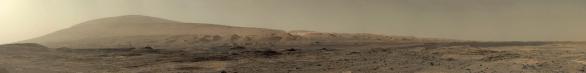 Sol 1100 panorama Aeolis Mons Autor: NASA/JPL-Caltech/MSSS