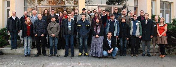 Účastníci konference o proměnných hvězdách v roce 2014. Autor: SPHE