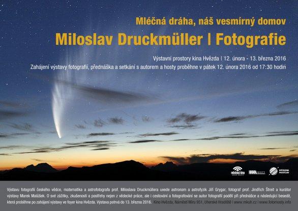 Výstava: Mléčná dráha, náš vesmírný domov. Autor: Kino Hvězda, Uherské Hradiště.