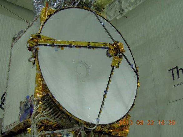 Radiolokační výškoměr Poseidon-3B Autor: Spaceflight101.com