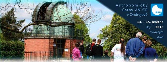 Dny otevřených dveří na observatoři v Ondřejově 13. až 15. května 2016. Autor: Astronomický ústav AV ČR