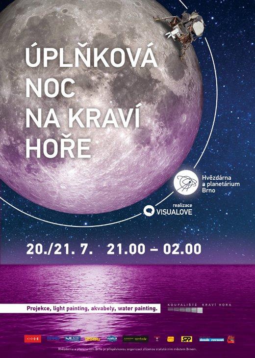 Nepropásněte úplňkovou noc na Kraví hoře 20./21. července 2016! Autor: HaP Brno