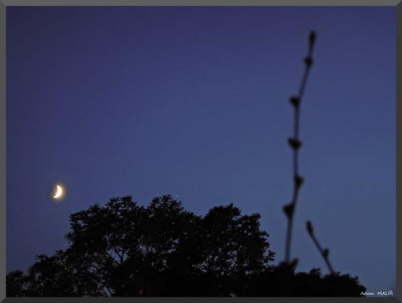 Setkání Jupitera s Měsícem 9.července 2016 Autor: Adam Malíř