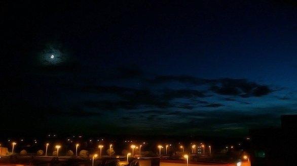 Noční obloha Autor: Renáta Břízová