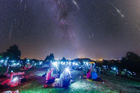 Užijte si noc padajících hvězd 2016 na Kraví hoře v Brně! Autor: HaP Brno
