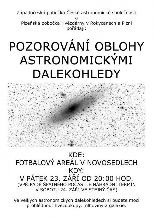 Pozorování hlubokého vesmíru v MOTO Autor: Josef Jíra