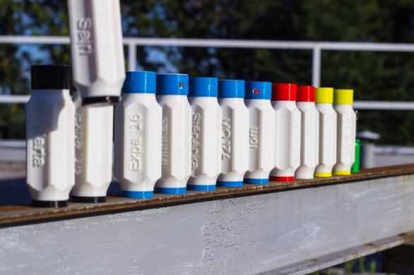 Lampičky byly vyráběny v různých barevných variantách Autor: Lenka Paulusová