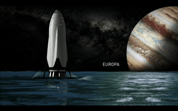 ITS na Europě, vizualizace Autor: SpaceX