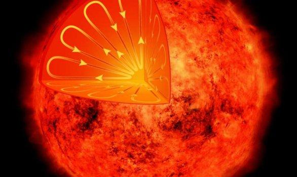 Řez hvězdou Proxima Centauri. Autor: NASA/CXC/M.Weiss