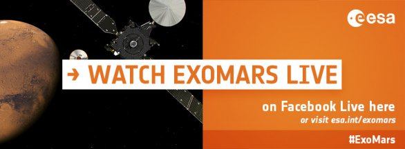 ExoMars 2016: upoutávka na přenos Autor: ESA