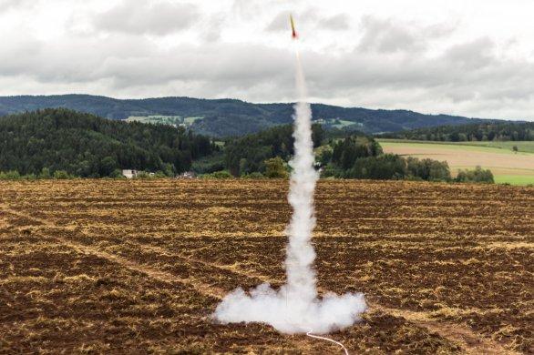 Start rakety. Autor: Petr Scheirich