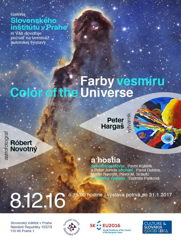 Výstava Farby vesmíru - Colors of the Universe v Praze. Autor: Informuji.cz.