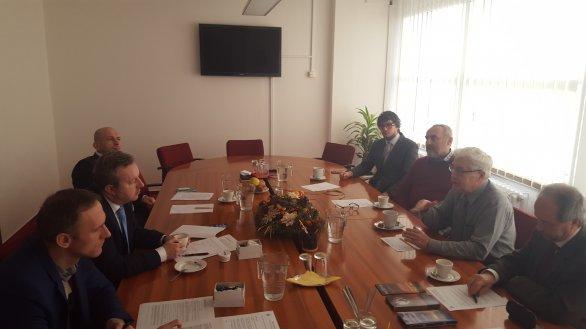 Z jednání s Ministrem životního prostředí 5. ledna 2016