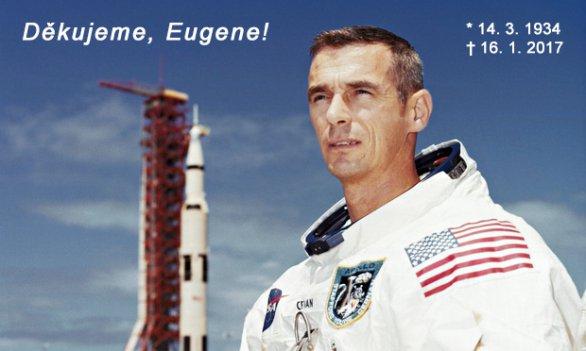 Děkujeme, Eugene Cernane! Čest Vaší památce! Autor: NASA/ČAS.