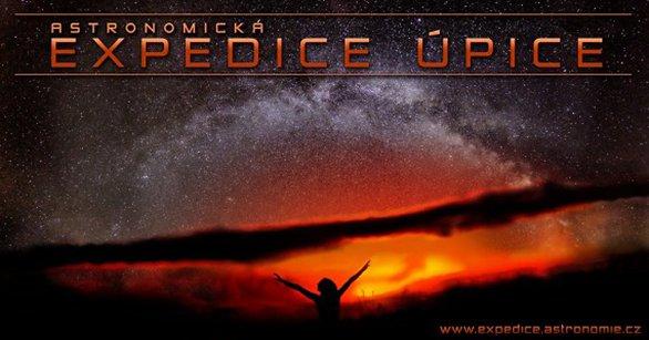 Astronomická expedice Úpice - brána k úchvatným zážitkům pod hvězdným nebem, cesta k poznání a nalezení přátel na celý život! Autor: Expedice Úpice.
