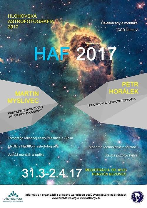 Hlohovská astrofotografia 2017