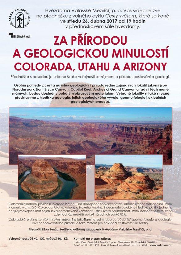Za přírodou a geologickou minulostí Colorada, Utahu a Arizony Autor: Libor Lenža
