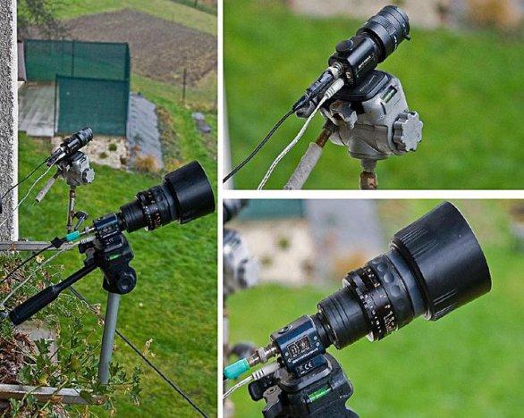 Systém kamer Watec 902H2 a Watec 910HX na pozorování TLE Autor: Martin Popek