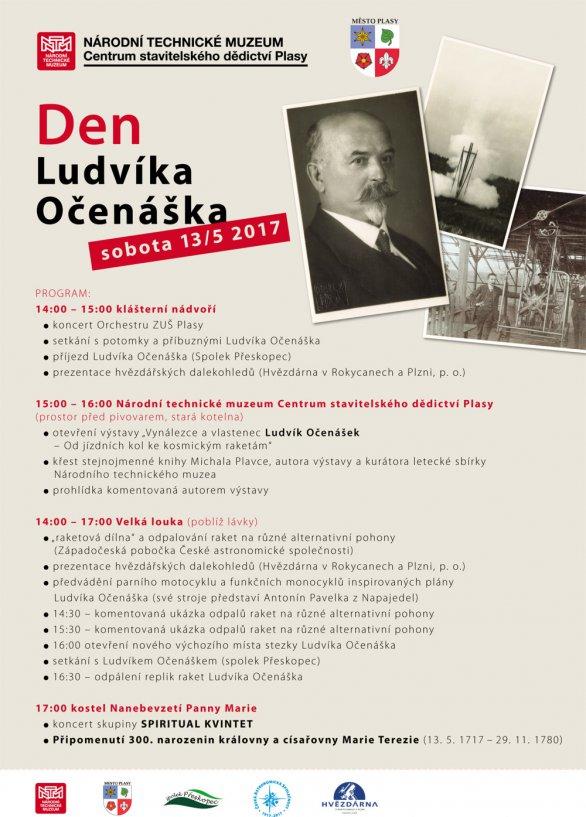 Program Dne Ludvíka Očenáška Autor: Národní technické muzeum