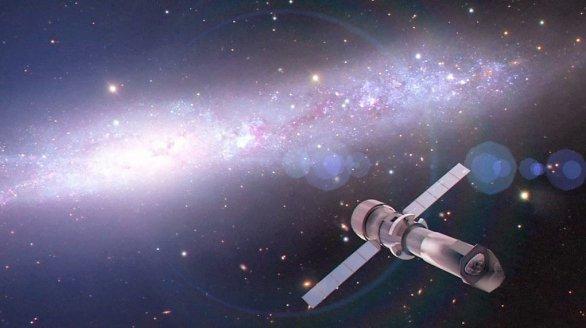 Předpokládaný vzhled připravované observatoře ATHENA. Autor: ESA.