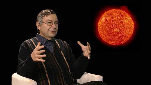 RNDr. Michal Sobotka DSc. v pořadu Hlubinami vesmíru Autor: TV Noe