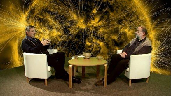 Pořad Hlubinami vesmíru s RNDr. Michalem Sobotkou DSc. Autor: TV Noe