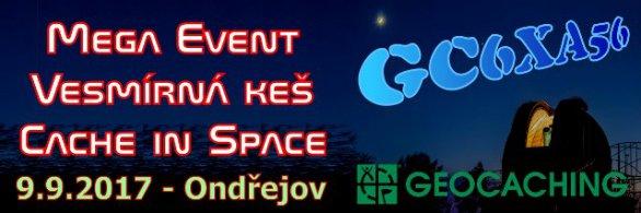 Megaevent Vesmírná keš | Cache in Space v Ondřejově