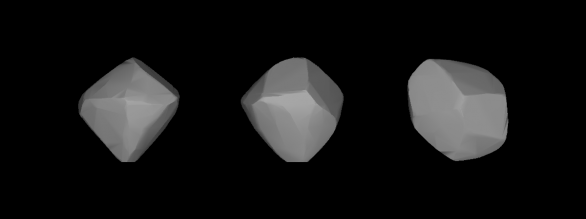 Model planetky Julia Autor: Wikimedia Commons