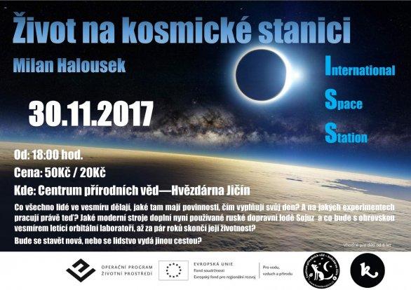 Život na ISS Autor: D. Vališka