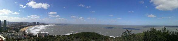 Panoramatický pohled z observatoře Autor: Ota Kéhar