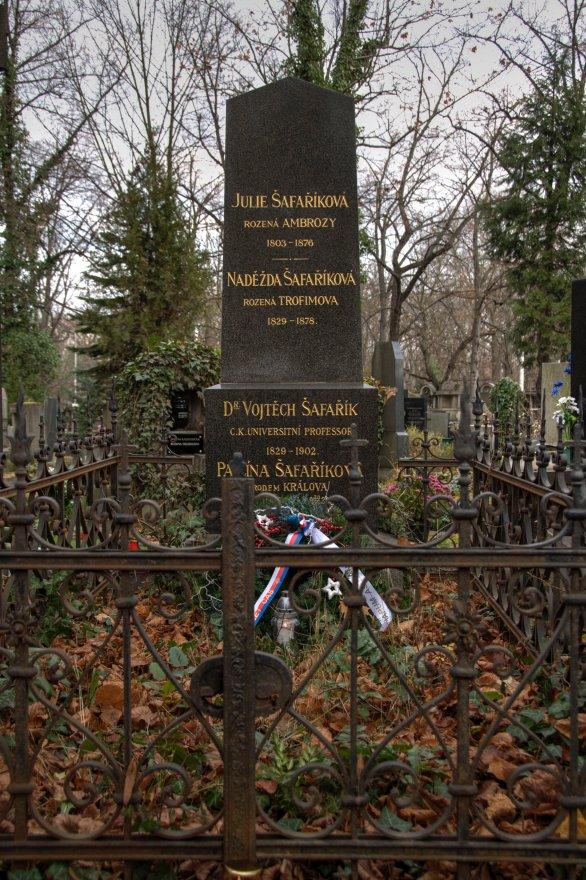 Hrob dr. Vojtěcha Šafaříka Autor: Lukáš Kalista