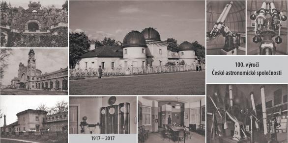 Pohlednice ke 100 letům České astronomické společnosti Autor: ČAS
