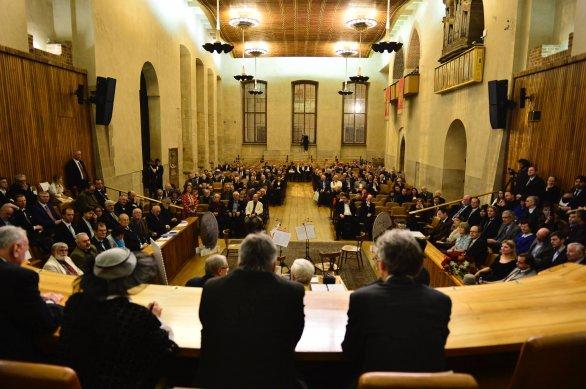 Slavnostní zasedání ČAS v aule Karolina 8. 12. 2017. Autor: David Malík.